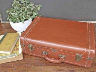 ビンテージ トランク Vintage trunk トランクケース カバン レザー ◎