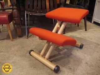 ストッケ STOKKE マルチバランス MALTI balans バランスチェア 学習椅子 レッド 北欧 ノルウェー ■