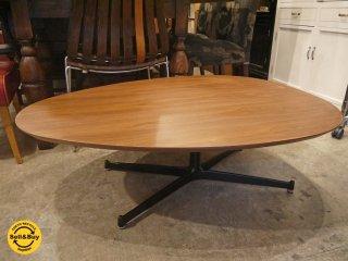 スウィッチ SWITCH エッグリビングテーブル Egg Living Table ローテーブル ウォールナット カフェスタイル ■