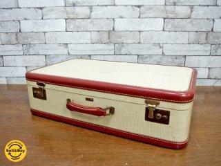 Warren ビンテージ vintage トランク trunk アメリカ製 店舗什器 撮影用 ●