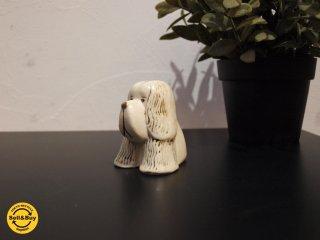 グスタフスベリ Gustavsberg ビンテージ リサ・ラーソン Lisa Larson Kennelシリーズ スパニエル 犬モチーフ ★