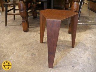 宮崎椅子製作所 オリスツール ORI stool 小泉誠 ウォールナット材 3本脚 ■
