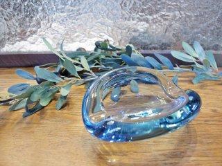 ホルムガード Holmegaard ビンテージ ガラス アッシュトレイ 灰皿 ペア・ルッケン デザイン ●
