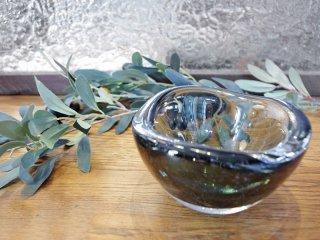 オレフォス Orrefors ビンテージ ガラス ボウル スウェーデン ●