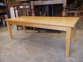無印良品 MUJI タモ材 リビングテーブル ローテーブル 無垢材 w120cm 廃番モデル ■