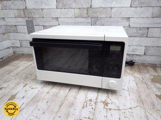 無印良品 MUJI 600W オーブンレンジ MJ-OR15A 2017年製 ●