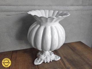 アスティエ ド ヴィラット Astier de Villatte ( カボチャ ) ベース Citrouille Vase 花瓶 希少♪