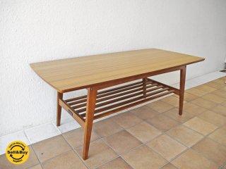 カリモク60 karimoku60 リビングテーブル Lサイズ 幅119 ウォールナットカラー デコラトップ ミッドセンチュリーデザイン 参考価格:¥41,040-◇