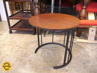 フクラ Hukla TMRB ウォールナット材天板 コーヒーテーブル サイドテーブル ■