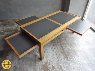Bellato テトラテーブル TETRA TABLE HEXA Par6 basse Bernard Vuarnesson コーヒーテーブル エクステンション天板 ラージサイズ ♪