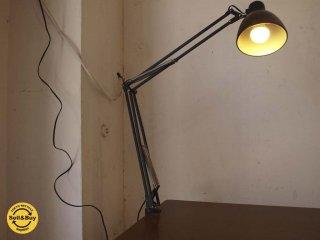 ヤマギワ yamagiwa ラクソ LUXO バイオライト Sアーム デスクランプ LED電球 ブラック クランプ 廃盤 ★