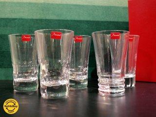 バカラ Baccarat グラス ジャパン 5客セット 未使用保管品 クリスタル タンブラー セット 日本限定 ★