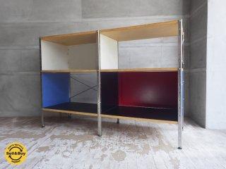 イームズ ストレージユニット 2×2 マルチカラー リプロダクト品 収納棚 本棚 ディスプレイラック ♪