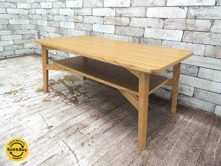 シーヴ SIEVE シーン SCENE センターテーブル ローテーブル 北欧スタイル タモ材 ●