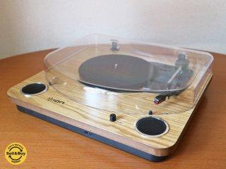 アイオンオーディオ ION Audio Max LP レコードプレーヤー USB端子 スピーカー内蔵 ◎
