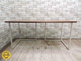 ビスレー BISLEY デスクプラン ウォールナット天板 + Lフット2個 (C) 机 ワーキングテーブル W150cm 英国 ●