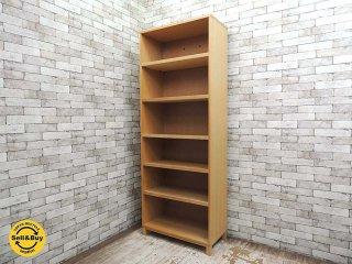 無印良品 MUJI タモ材 組み合わせて使える木製収納 本棚 収納棚 シェルフ ●
