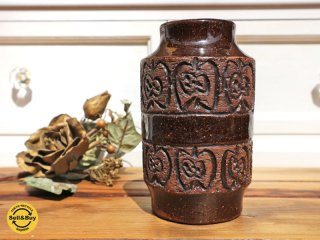 ラホルム LAHOLM フラワーベース りんご柄 陶器の花瓶 スウェーデン ◎