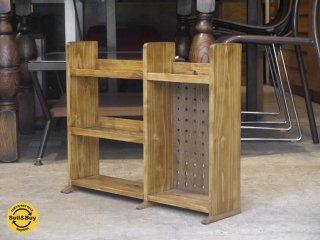 堂谷木工製作所 ヒノキ スパイスラック キッチンラック 調味料 棚 飾り棚 シェルフ ■