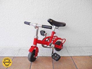 NENG HAO マイクロバイク 小径自転車 ミニベロ ミニサイクル ミニバイク レッドカラー レトロ インテリア 希少レアアイテム! ◇