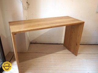 無印良品 MUJI オーク 無垢材 デスク テーブル Desk table コノ字家具 ナチュラル ★
