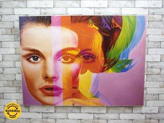 リチャード・フィリップス Richard Phillips Spectrum アートポスター / アートフレーム キャンバス ●