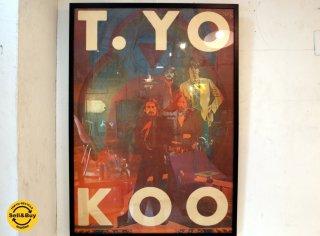 横尾忠則 Tadanori Yokoo Beatles/Jesus Christ ビートルズ×キリスト 73年 オフセットポスター 額装 ★