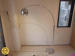 キシマ KISHIMA KL-20018 スタイリッシュ フロアライト Stylish floor light シルバー ステンレス フットスイッチ ★