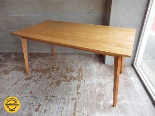 モモナチュラル Momo Natural ビボ VIBO ダイニングテーブル W150cm ♪