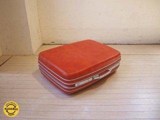 サムソナイト Vintage samesonite スーツケース suitcase トランク オレンジ ビンテージ ★