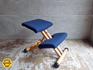 ストッケ STOKKE マルチバランス MALTI balans バランスチェア 学習椅子 ブルー 北欧 ノルウェー ♪