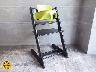 ストッケ STOKKE トリップトラップ TRIPP TRAPP チェア 新型 ライトグリーン 木製ベビーチェア ステップアップチェア ★