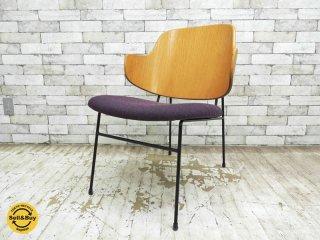 イブコフォードラーセン Ib Kofod Larsen ペンギンチェア Peiguin chair ラウンジチェア 50's ビンテージ オリジナル 希少 ●