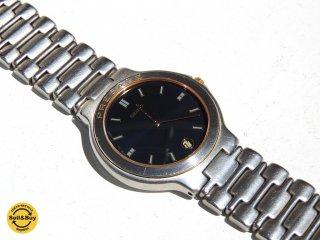 セイコー SEIKO プレサージュ PRESAGE 1986年製 ビンテージ クォーツ 腕時計 9539-6010 デイト付き ●