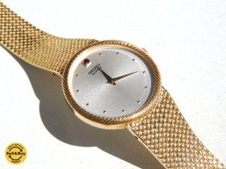 セイコー SEIKO 誕生石時計 ルビー使用 1984年製 ビンテージ クォーツ 腕時計 7430-7010 メンズ  ●
