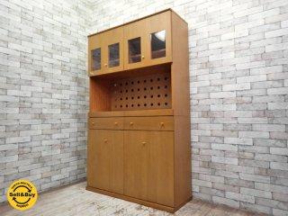 アクタス ACTUS 食器棚 / カップボード シンプルデザイン 北欧モダンスタイル ●