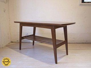カリモク60 karimoku リビングテーブル S サイズ ウォールナット ムテニエ材突板 ラバートリー カフェスタイル ★