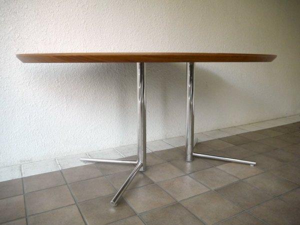 アクタス ACTUS オウン OWN ビッグサイドテーブル BIG SIDE TABLE ウォールナット天板 参考価格¥8.1万 オーバル ダイニングテーブル デスク リビングテーブル ◇