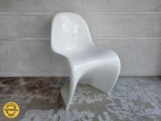 ヴィトラ Vitra パントンチェア クラシック Panton Chair Classic ホワイト ヴェルナー パントン デザイン ♪