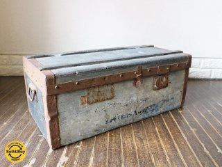 ビンテージ トランク Vintage trunk トランクケース アンティーク 店舗什器 ディスプレイ ◎