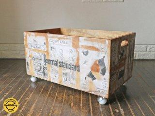 ジャーナルスタンダードファニチャー journal standard Furniture ドリュー DREUX トイ ボックス TOY BOX L ◎