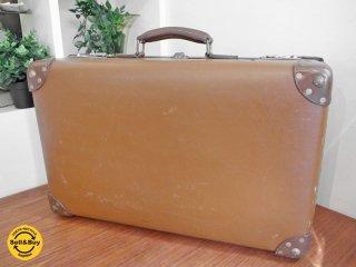 グローブトロッター GLOBE TROTTER UKビンテージ トランク スーツケース 鍵なし ●