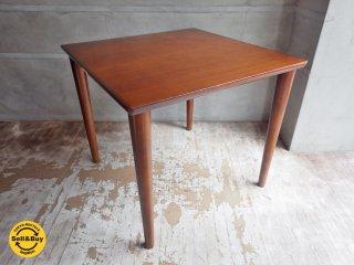 カリモク60+ ロクマルプラス karimoku ダイニングテーブル ウォールナットカラー 正方形 W80 ♪