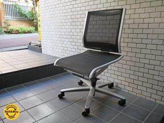 ウィルクハーン Wilkhahn ソリス F Solis chair デスクチェア メッシュ張り アルミベース ■