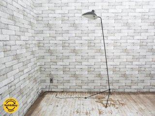 イデー IDEE ランパデール アン ルミエール LAMPADAIRE 1 LUMIERE セルジュ ムーユ Serge Mouille デザイン 1灯タイプ ブラック ●