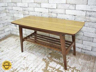 カリモク60 karimoku60 リビングテーブル Sサイズ ウォールナット ローテーブル ●