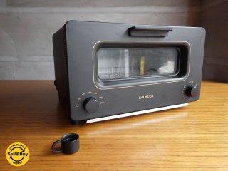 バルミューダ BALMUDA スチーム トースター The Toaster ブラック K01-EKG 2017年製 ♪