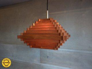キューブ Cube ブロードノット Broad-not ウォールナット ペンダントライト 3灯照明 ♪
