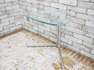 テクタ TECTA K22G SIDE TABLE ガラスサイドテーブル 定価9.3万円 ●