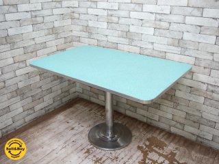 USビンテージ ダイナーテーブル ダイニングテーブル レトロ アメリカン 50s ●